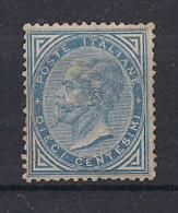 REGNO D'ITALIA   1877 EFFIGE DI V.EMANUELE II SASS. 27 MNH SENZA GOMMA XF - Neufs