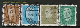 GERMANY    Scott  # 366-84 F-VF USED - Germany