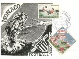 (M=S 759) Monaco Stadium Maxicard - 1963 - Estadios