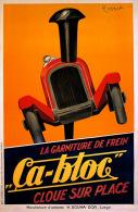 MAGNET (IMAN PARA NEVERA) SIZE.7X5 CM. APROX - Leonetto Cappiello Posters - Publicitaires