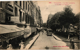 TOULOUSE ...LA RUE LAFAYETTE ET SQUARE DU DONJON - Toulouse