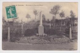 (RECTO / VERSO)  SOISSONS EN 1912 - N° 24 - MONUMENT DU CAPITAINE HARDY - BEAU CACHET - Soissons