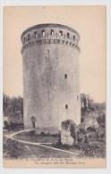 (RECTO / VERSO) COUCY LE CHATEAU EN 1918 - LE DONJON ET LA PORTE DU MUSEE - France