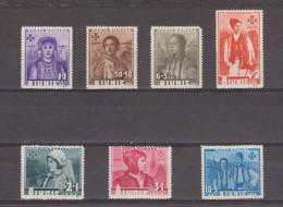 1936 - Costumes Provinciaux  Mi No 509/515 Et Yv No 498/503 MNH - 1918-1948 Ferdinand, Carol II. & Mihai I.