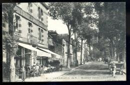Cpa Du 22 Lamballe  Boulevard Antoine Jobbert   MAI9 - Lamballe
