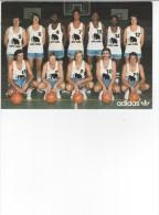 CPM  ASPO Tours Sélection Basket 1975 / 1976-  Adidas - Pallacanestro