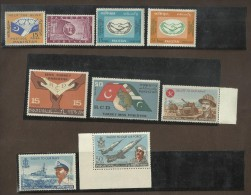 Military Tank Warcraft Aircraft Fighter Jet Plane Handicap Blind Book RCD Joint Issue Flag UIT Pakistan Year Pack 1965 - Pakistan