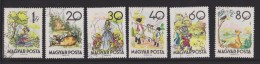Hungary Mi 1718-1723 The Turnip - Snow White And The Seven Dwarfes - The Miller, His Son And The Donkey - Puss In Boots - Hongarije