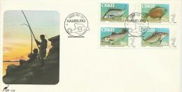 Ciskei 1985 Fish FDC - Ciskei