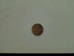 1936 J - 5 Reichspfennig / KM 39 ( Uncleaned Coin / For Grade, Please See Photo ) !! - 5 Reichspfennig
