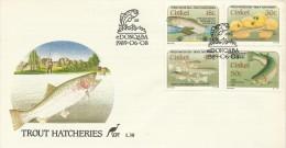 Ciskei 1989 Trout Hatcheries FDC - Ciskei