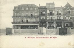 Wenduine / Wenduyne - Hôtel Des Familles , La Digue - 1900 ( Verso Zien ) - Wenduine