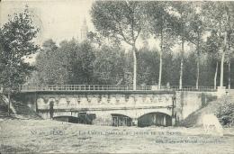 Halle / Hal - Le Canal Passant Au Dessus De La Senne  -1910 ( Verso Zien ) - Halle