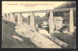 39 CPA  - CLAIRVAUX Du Jura - Viaduc De Quinquena - Moulins Michaud - Clairvaux Les Lacs