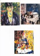 RIK WOUTERS 3KAARTEN - Peintures & Tableaux