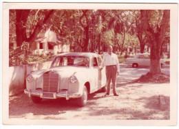< Automobile Auto Voiture Car >> Belle Photo Originale 9 X 13, Mercedes 219, America? - Automobiles