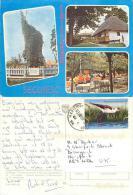 Cristuru Secuiesc, Romania Postcard Posted 2012 Stamp - Romania