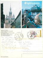 Sighisoara, Romania Postcard Posted 2006 Stamp - Roemenië