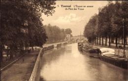 Cp Tournai Wallonien Hennegau, L'Escaut En Amont Du Pont Des Trous - Belgium
