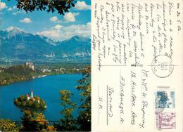 Bled, Slovenia Postcard Posted 1984 Stamp - Slovenia
