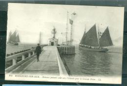 N°145  -    Boulogne Sur Mer  - Bateaux Faisant Voile Vers L'Islande Pour La Grande Pêche  -   Pl225 - Boulogne Sur Mer