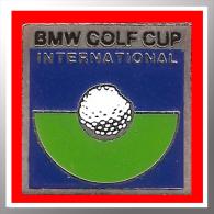 SUPER PIN´S BMW-GOLF : BMW GOLF CUP International, Petit Modèle 1,6X1,6cm - BMW