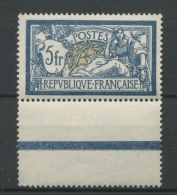 123 **  France 5F Merson Luxe  Cote 325 E    BON Centrage - Unused Stamps