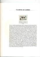 Page Album Histoire De L´aviation Madagascar Bougault - Airplanes