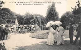 LA CHATRE .  LES PETITES FILLES DE GEORGE SAND. LE JOUR DES FETES DU CENTENAIRE. - La Chatre