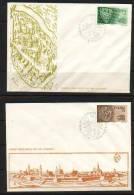 POLAND FDC 1975 SILESIAN PIASTS - POLISH KINGS Royalty Royals Coins Horses History Famous Poles - FDC