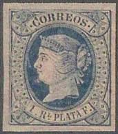 ESPAÑA/ANTILLAS 1864 - Edifil #11 - MNH ** - 1850-68 Royaume: Isabelle II