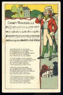 Cpa Cadet Rousselle Publicitaire Grands Magasins De Nouveautés Jacques Cartier Saint Malo Maison Mahé Guilbert   MAI11 - Publicité