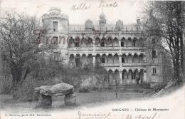 (16) Charente - Baignes Sainte Radégonde - Le Château Montauzier - Otros Municipios