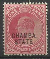 CHAMBA..1903..Michel # 23...MH...Good Condition. - Chamba