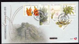B5079 SOUTH AFRICA 2013, Kirtenbosch Centenary FDC No1 - Afrique Du Sud (1961-...)