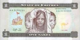 Eritrea  1 Nakfa 1997 Pick 1 UNC - Erythrée