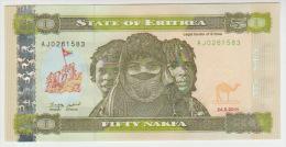 Eritrea  50 Nakfa 2011 Pick 9 UNC - Erythrée