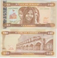 Eritrea  10 Nakfa 2012 Pick NEW UNC - Erythrée