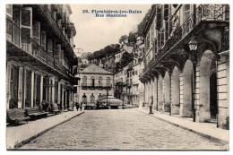 CP, 88, PLOMBIERES-les-BAINS, Rue Stanislas, Vierge - Plombieres Les Bains