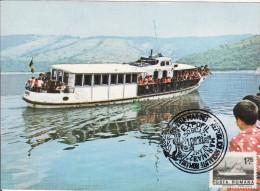 Bicaz Lacul De Acumulare, Le Lac, Bateau De Plaisance, Ship Card 105 - Romania
