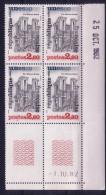 COIN DATE - SERVICE N°72 - PATRIMOINE UNESCO LE 1-10-1982. - Esquina Con Fecha