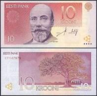 Estonia  10 Kroon 2007 Pick 86 UNC - Estonia
