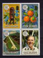 Cook Islands - 1986 - Commonwealth Day Officials (Overprinted OHMS) - MNH - Cook