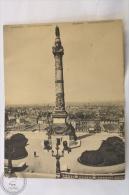Double Postcard Belgium - Bruxelles/ Brussels Colonne Du Congress/ Congress Monument - Exposiciones Universales
