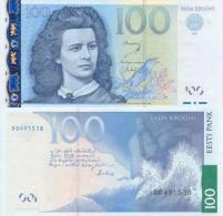 Estonia  100 Kroon 2007 Pick 88 UNC - Estonia