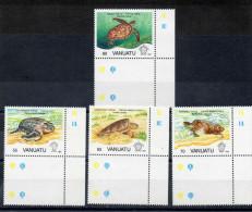 VANUATU :Les Tortues : Chelonia Mydas (Tortue Verte), Caretta Carette (Caouane), Etc - Reptiles - Ovipares - Vanuatu (1980-...)