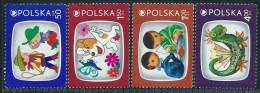 Polonia 1975 Nuovo** - Mi.2392/5  Yv.2230/3 - 1944-.... Repubblica