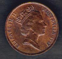 AUSTRALIA CENT 1987 - Moneta Decimale (1966-...)