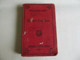 Lib236 Vocabulaires Italiano Francese Librairie Garniere Freres Paris, Vintage, Anni 30, Libro Antico, Old Vintage - Dizionari