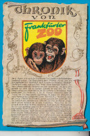 ZOO - FRANKFURT, Affen, Chronik-Karte - Monkeys